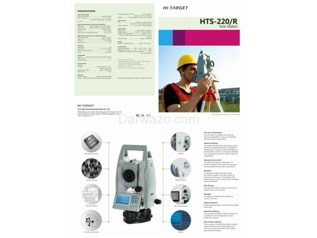 Total Station/Electronic Total Station/Reflectorless Total Station - 6
