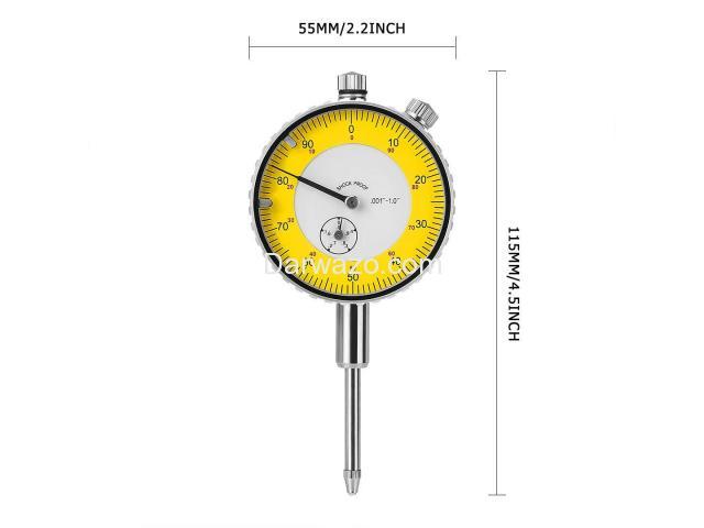 "Dial Gauge Indicator/Depth Dial Gauge/Precision Dial Gauge/0.001""-1.0"" Dial Gauge Indicator - 5"