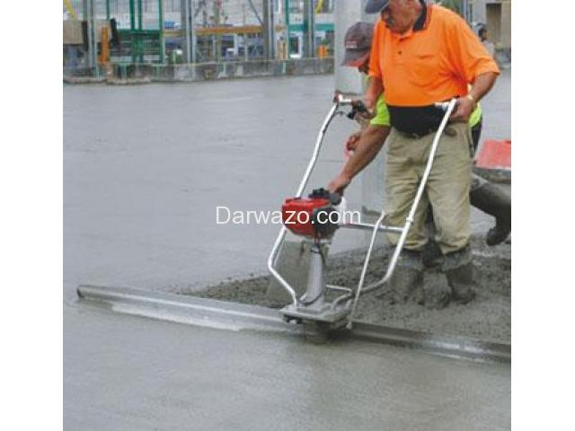 Concrete Surface Finishing Screed Machine - 4