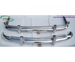 VW Karmann Ghia US bumper type (1955 – 1966) stainless steel