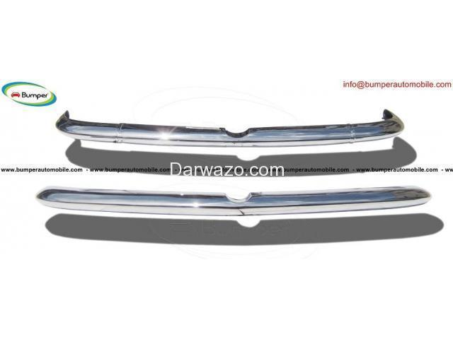 Alfa Romeo Sprint bumper kit (1954-1962) stainless steel - 2