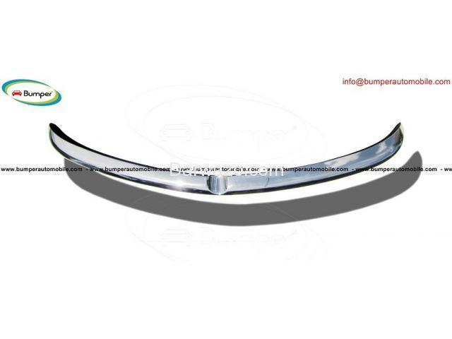 Alfa Romeo Sprint bumper kit (1954-1962) stainless steel - 4