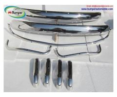 Volkswagen Beetle USA style bumper (1955-1972) stainless steel - Image 1/4