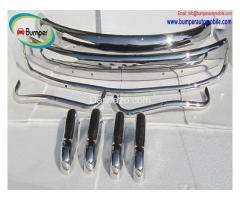 Volkswagen Beetle USA style bumper (1955-1972) stainless steel - Image 2/4