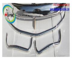 Volkswagen Beetle USA style bumper (1955-1972) stainless steel - Image 3/4