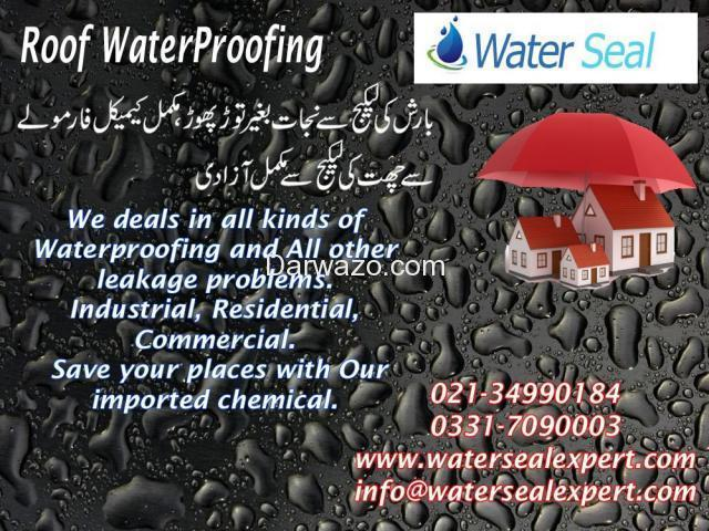 Roof Water Proofing Services in Pakistan - 1