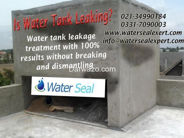 Water Tank Leakage in Pakistan - 1