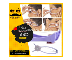 Women's Slique Eyebrow Face and Body Hair Threading Removal System Fre