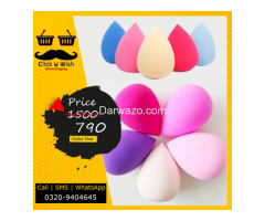 Blender Beauty Sponge with Multi Color, Flawless Coverage Sponges