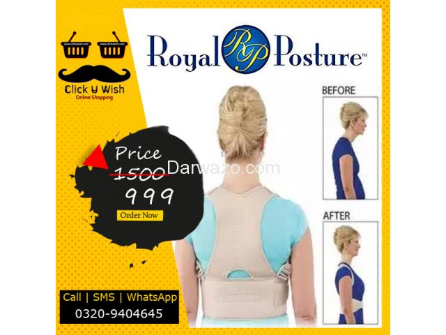 Royal Posture Belt - 1