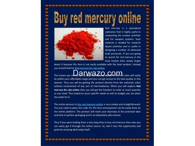 Liquid mercury for sale Call On (+27)787153652 where to buy liquid mercury- Pure red. - 1