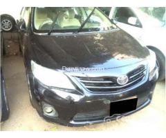 TOYOTA COROLLA XLI 2012 For Sale