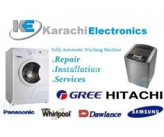 Fully Automatic Washing Machine Repair Installation Services 24H