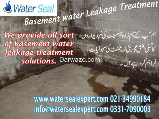 Basement Water Proofing in Pakistan - 1