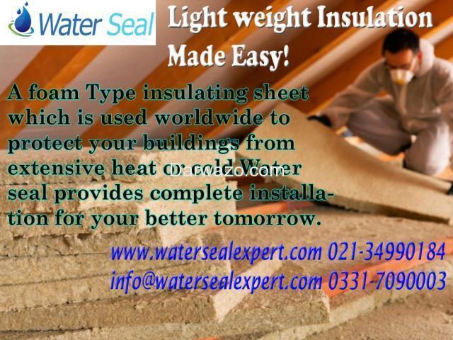 Light weight Insulation. - 1