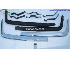 Mercedes W107 Chrome bumper Euro by stainless steel - Image 1/5