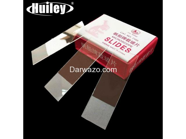 Microscope Slides (50 pieces) & Cover Glass Slides (100 pieces) Microscope Glass Slides - 1