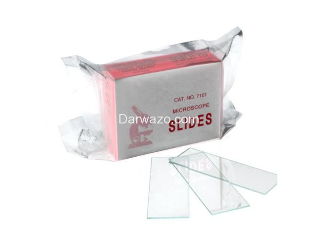 Microscope Slides (50 pieces) & Cover Glass Slides (100 pieces) Microscope Glass Slides - 5