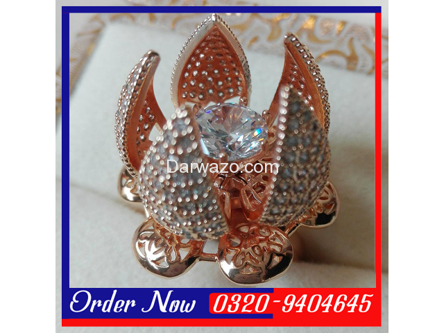 Flower Bloom Ring For Women in Pakistan - 1