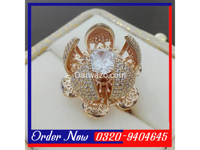Flower Bloom Ring For Women in Pakistan - 2