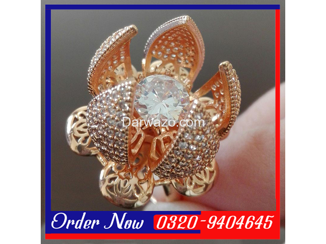 Flower Bloom Ring For Women in Pakistan - 3