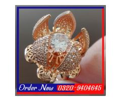 Flower Bloom Ring For Women in Pakistan - Image 3