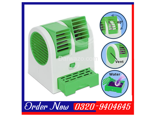 Mini Air Conditioner Shaped Cooler Fan - 1