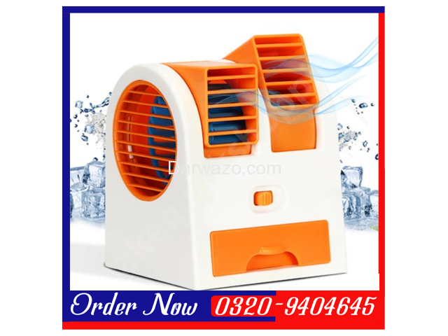 Mini Air Conditioner Shaped Cooler Fan - 2
