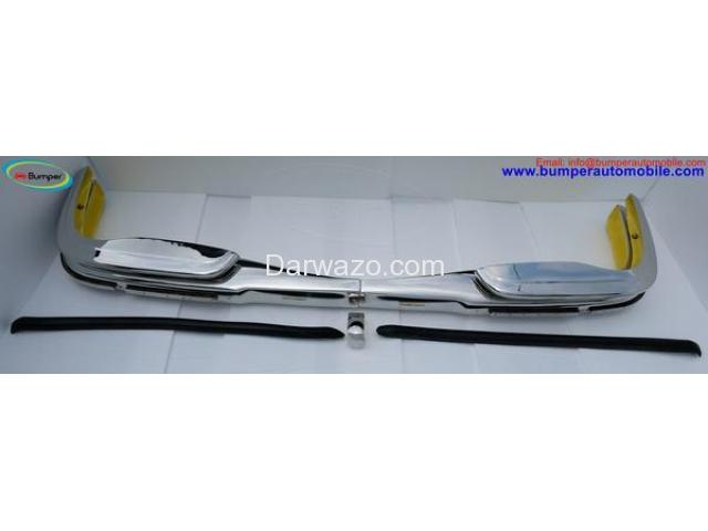 Mercedes W108 & W109 bumper (1965-1973) by stainless steel - 2