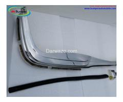 Mercedes W108 & W109 bumper (1965-1973) by stainless steel - Image 4