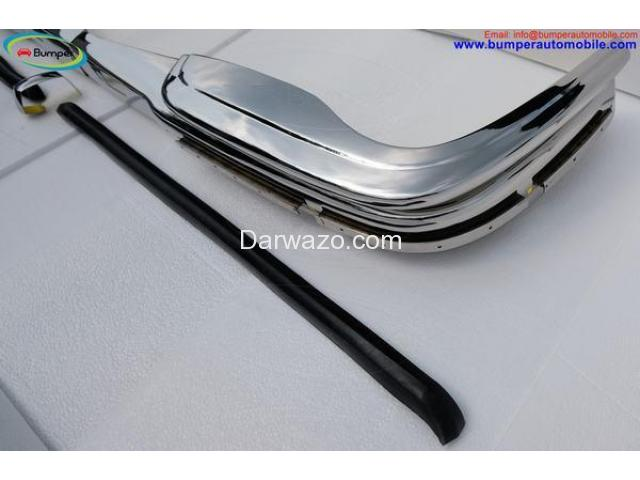 Mercedes W108 & W109 bumper (1965-1973) by stainless steel - 5