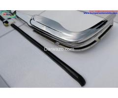 Mercedes W108 & W109 bumper (1965-1973) by stainless steel - Image 5
