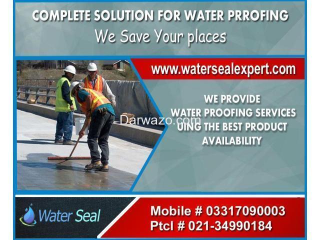 Waterproofing Services in Karachi Pakistan - 1
