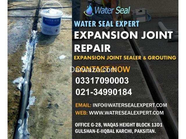 Expansion Joint Repair Karachi Pakistan - 1