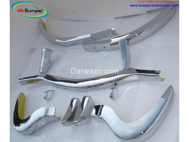 Mercedes 300SL Roadster bumpers (1957-1963) - 2