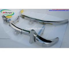 Mercedes 300SL gullwing coupe bumper (1954-1957) - Image 2