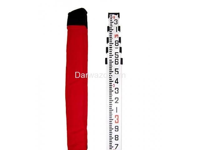 Aluminum Surveying Staff Pole Aluminum Leveling Staff Pole for Auto Level - 1