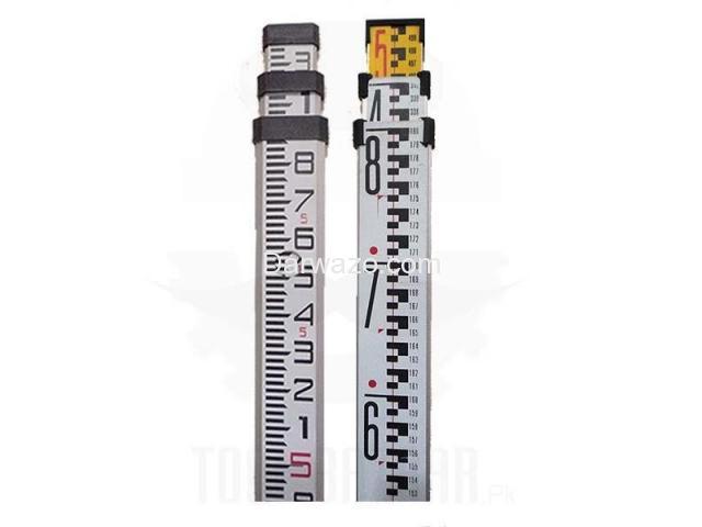 Aluminum Surveying Staff Pole Aluminum Leveling Staff Pole for Auto Level - 3