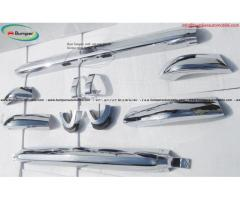 BMW 2002 bumper (1968-1971) by stainless steel - Image 3