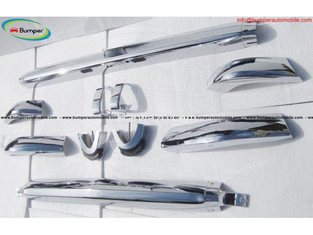 BMW 2002 bumper (1968-1971) by stainless steel - 4