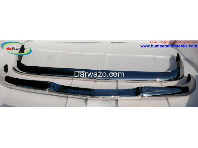 BMW 2000 CS bumpers (1965-1969). - 2