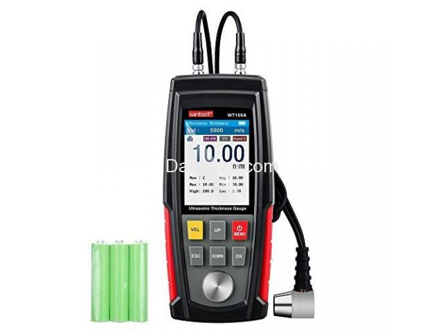Ultrasonic Thickness Gauge Corrosion Gauge Ultrasonic Thickness Meter - 5