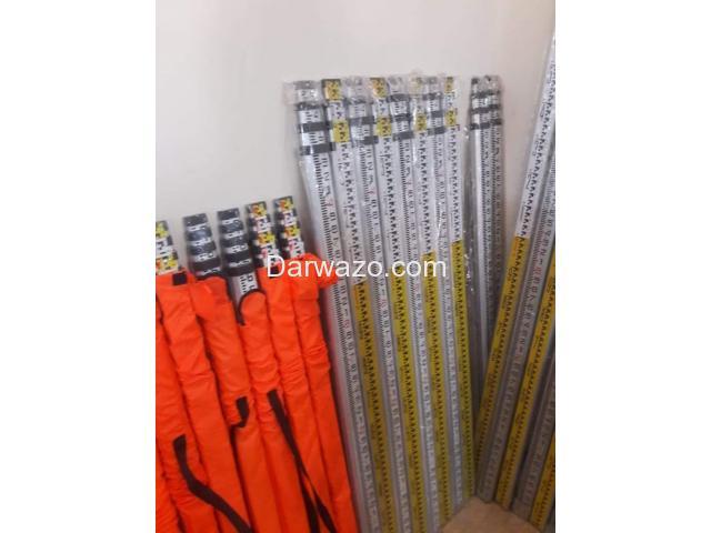 Aluminum Surveying Staff Pole Aluminum Leveling Staff Pole for Auto Level - 5