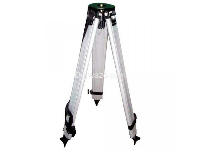 ALUMINUM SURVEYING TRIPOD STAND FOR AUTO LEVEL ALUMINUM TRIPOD STAND - 2
