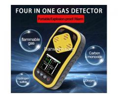 Gas Detector Multi 4 in 1 Gas Detector for H2s,Co,O2 & LEL