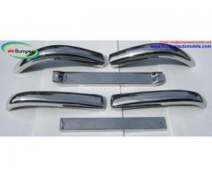 Stainless Steel Bumper Set For Mercedes W136 170Vb (1952–1953)