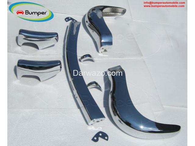 Stainless Steel Bumper Set for the Mercedes W121 Roadster 190SL 1955-1967 - 2