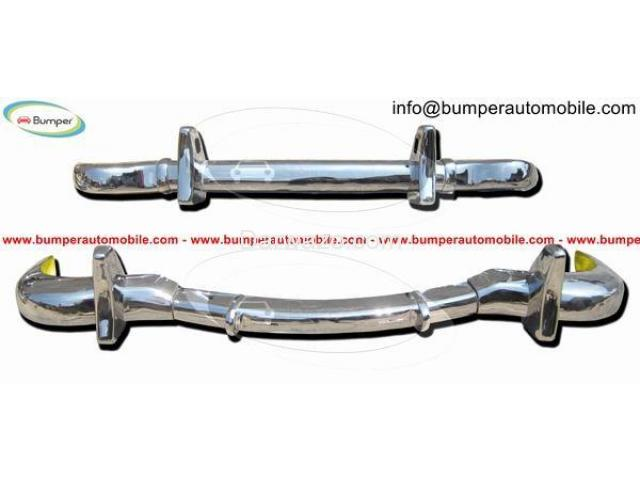 Stainless Steel Bumper Set for the Mercedes W121 Roadster 190SL 1955-1967 - 5