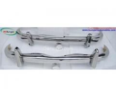 Mercedes Ponton W105, W180, W128, 6 cylinder saloon Stainless steel Polished SUS 304