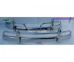 VW Beetle USA style (1955-1972) bumper full set